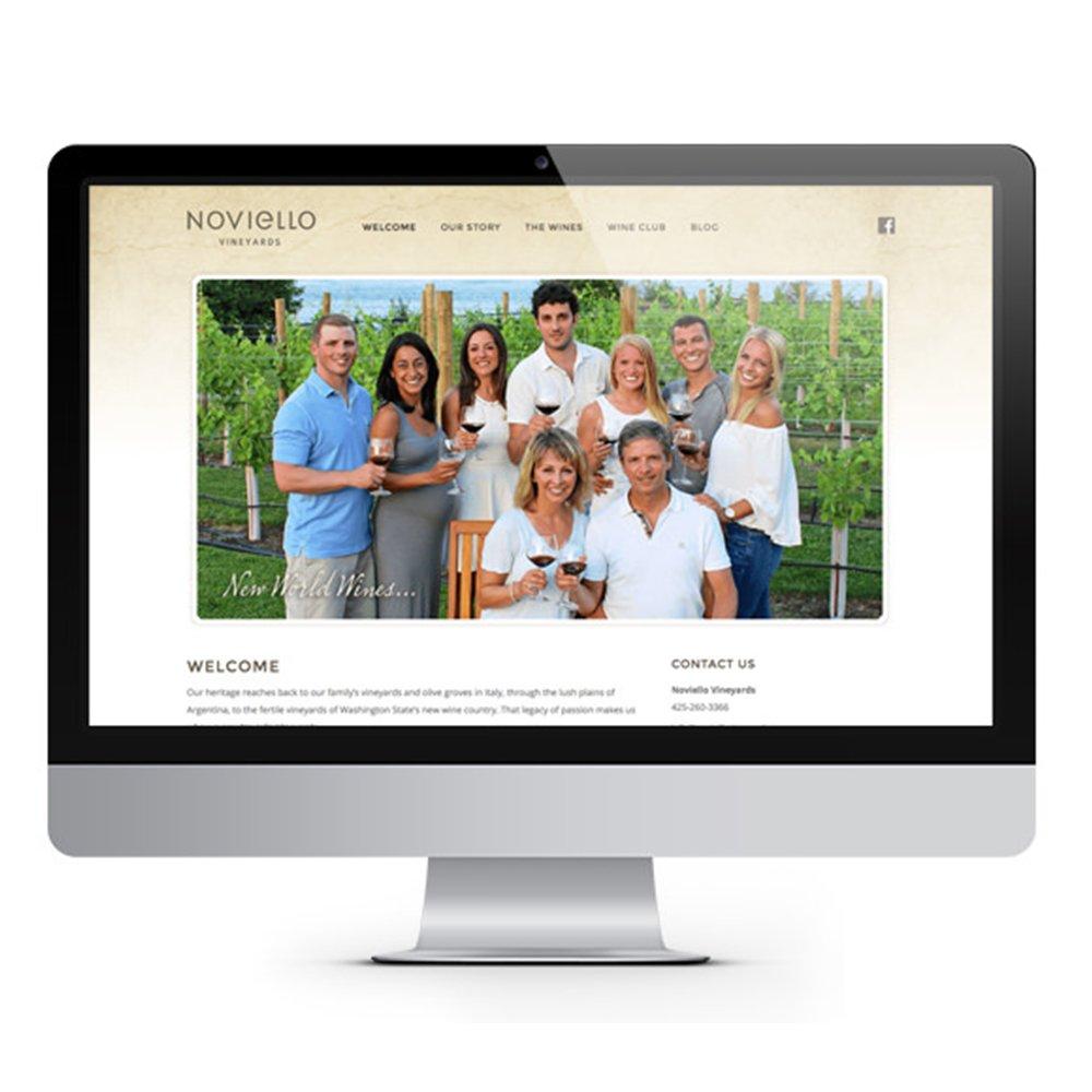 Noviello Artist Series Wine Label Design