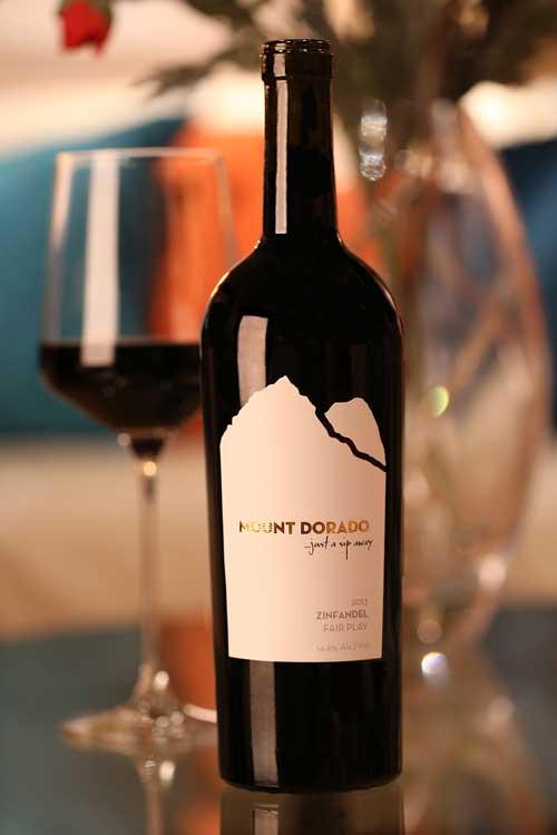 Mount Dorado Wine Label Design
