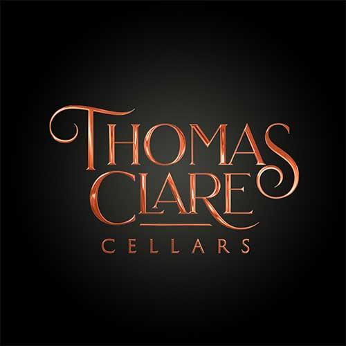 Thomas Clare Cellars Branding