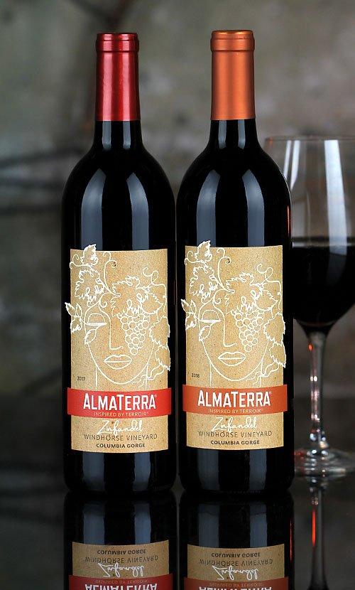 Alma Terra Zinfandel Wine Label Design