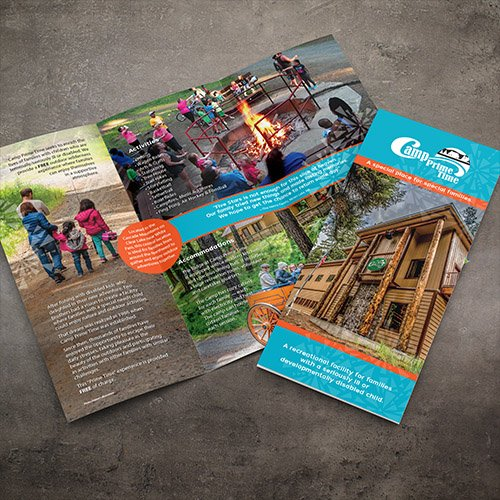 Camp Prime Time Brochure Design