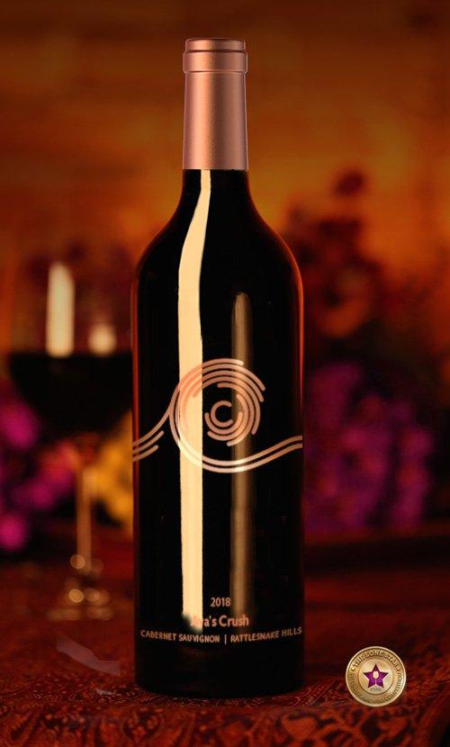 Cedar River Cellars Wine Bottle