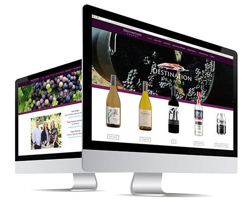 Destination Brands Website Design