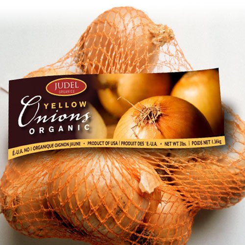 Judel Yellow Onions Packaging Design