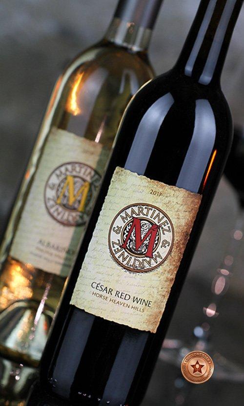 Martinez & Martinez Wine Bottle