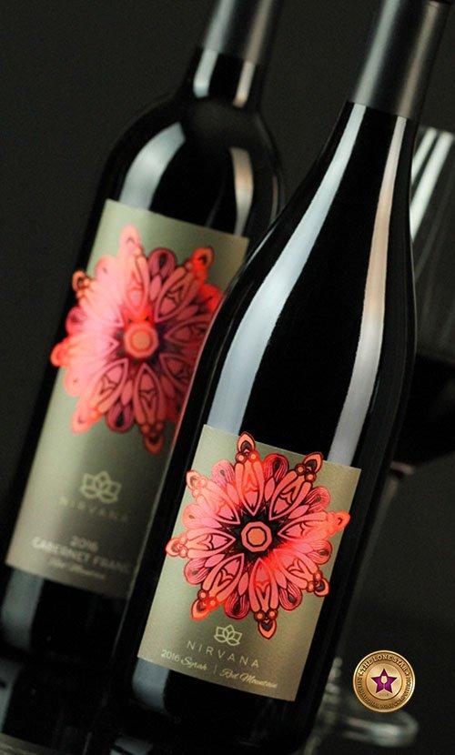 Nirvana Wine Label Design