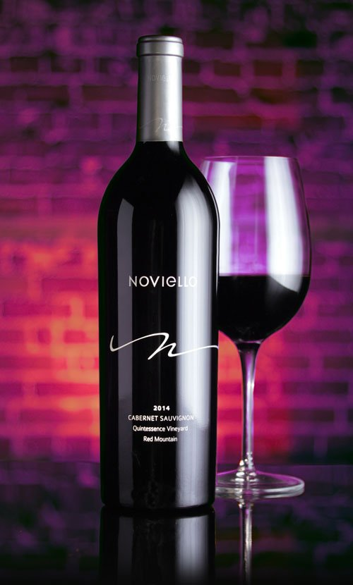 Noviello Quintessence Wine Label Design