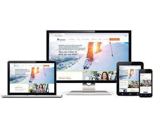 Piton Wealth Website Design