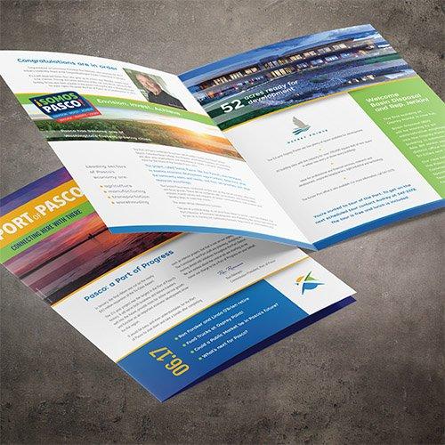 Port of Pasco Brochure Design