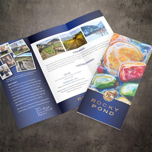 Rocky Pond Brochure Design