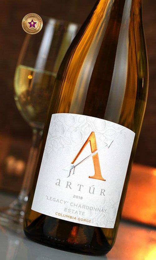 Stave and Stone Artur Wine Label Design