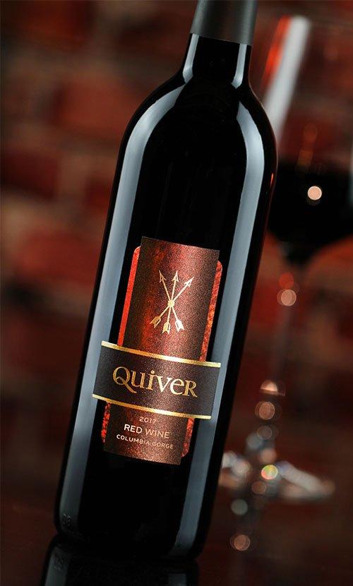 Stave and Stone Quiver Wine Label Design