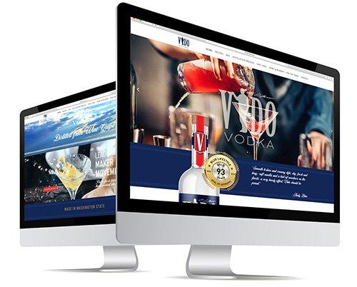 Vido Vodka Website Design