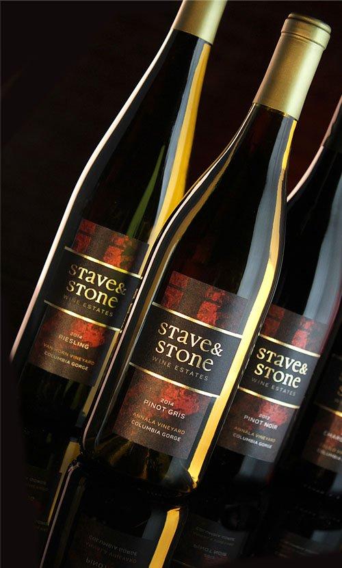 Stave and Stone Wine Label Design